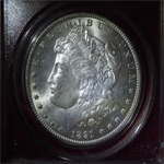 1891-CC Morgan Dollar  (MS63)