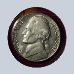 1948 Jefferson Nickel - With Steps  ( BU )