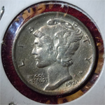 1920-S Mercury Dime  ( MS61 )