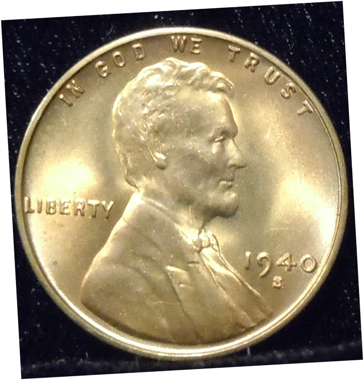 1940-S Lincoln Cent ( BU )