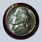 1946 Jefferson Nickel - With Steps  ( BU )