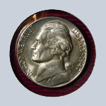 1947 Jefferson Nickel - With Steps  ( BU )