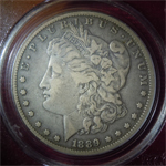 1889-CC Morgan Dollar  ( VF25 )