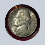 1947-S  Jefferson Nickel ( BU )
