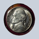 1948-S  Jefferson Nickel - With Steps  ( BU )