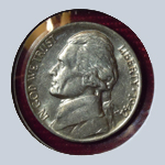 1942 Jefferson Nickel  ( BU )