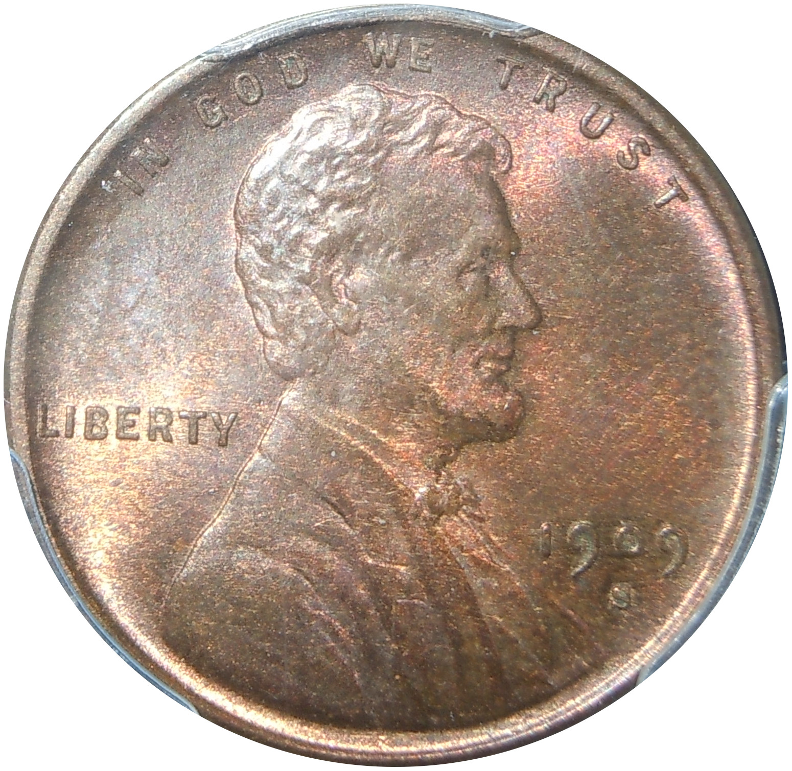 1909-S VDB Lincoln Cent MS64 RB PCGS