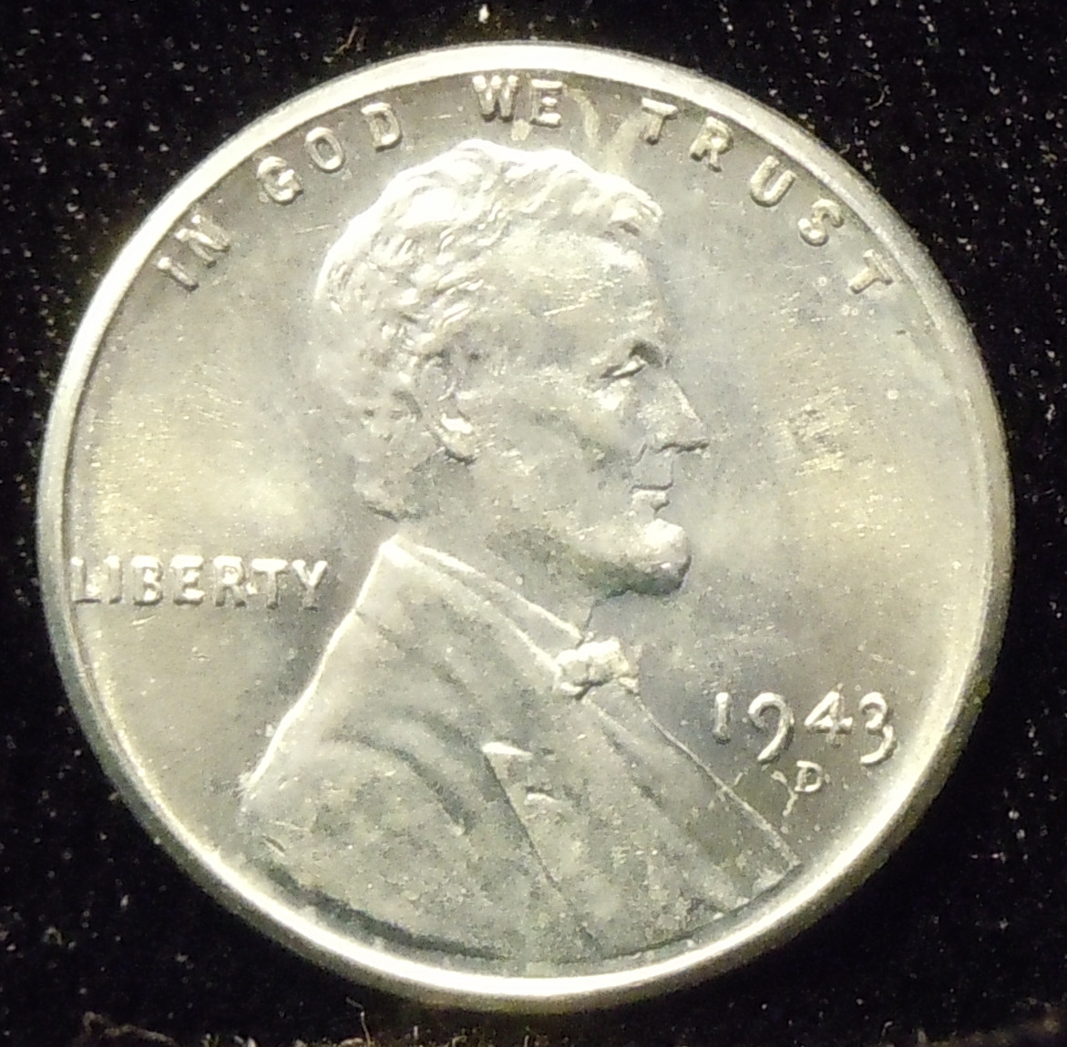 1943-D Lincoln Cent ( BU )