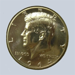1964 Kennedy Half Dollar  ( Proof )