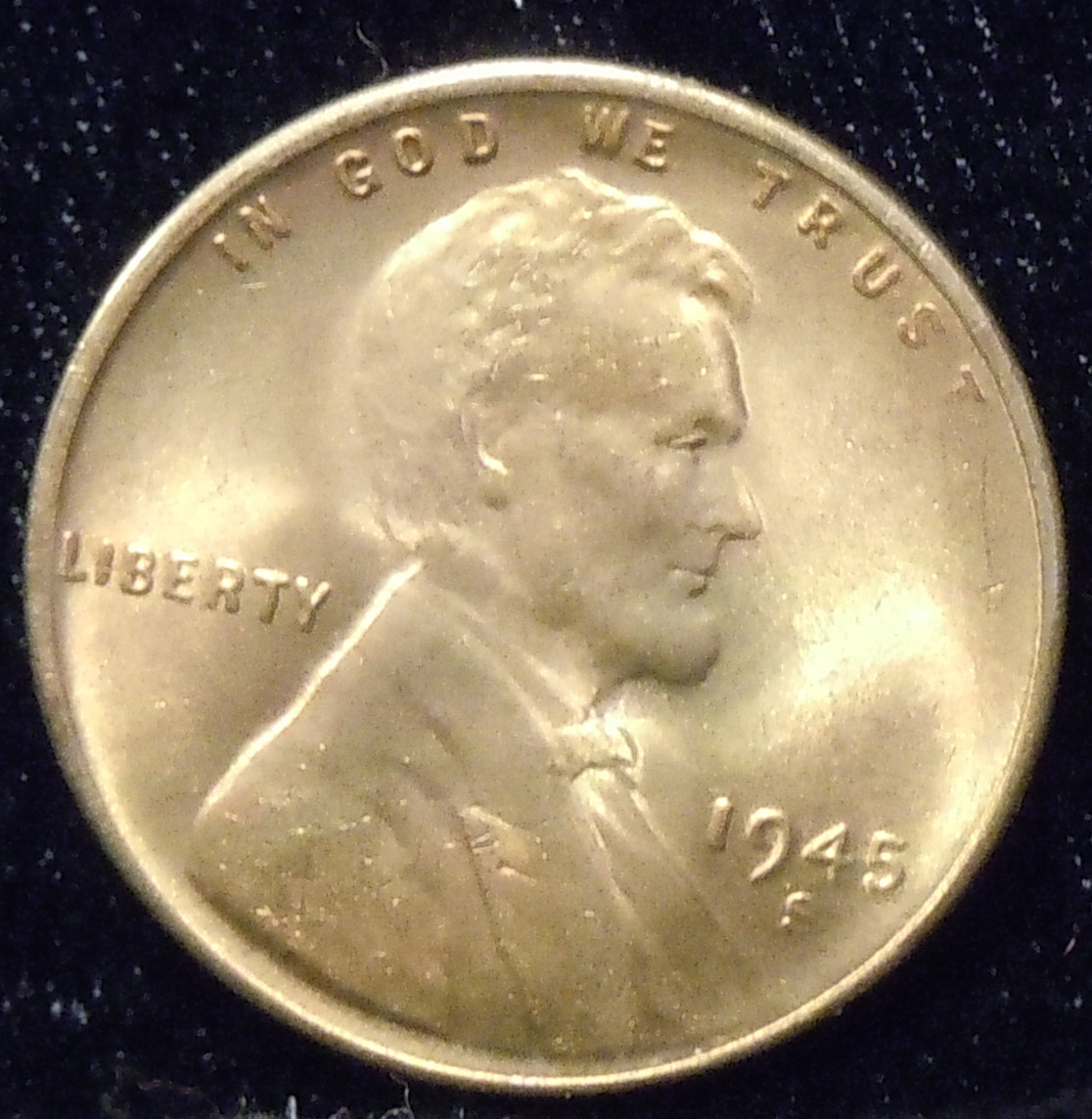 1945-S Lincoln Cent ( BU )
