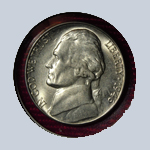 1946-S Jefferson Nickel - With Steps  ( BU )